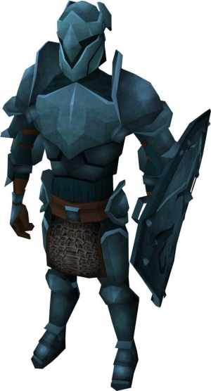 To be clear, this armor isn't blue because it makes the stats any better.
