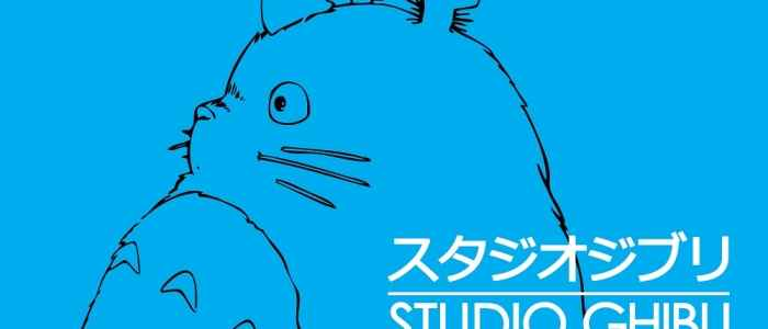 The imagery used for this logo is actually Totoro from My Neighbor Totoro, one of Miyazaki's beloved classics. Basically the Mickey of Japan.
