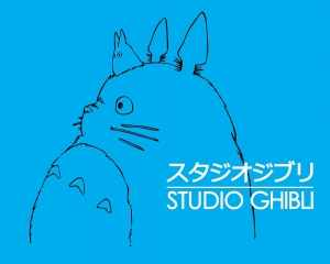 Studio Ghibli's logo is actually the popular character from Miyazaki's beloved work My Neighbor Totoro.