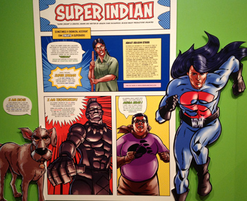 Characters in Super Indian