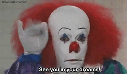 "Clown from the 1990's film ""It"""