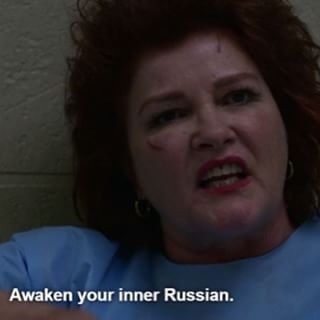 "Galina ""Red"" Reznikov on Orange Is The New Black"