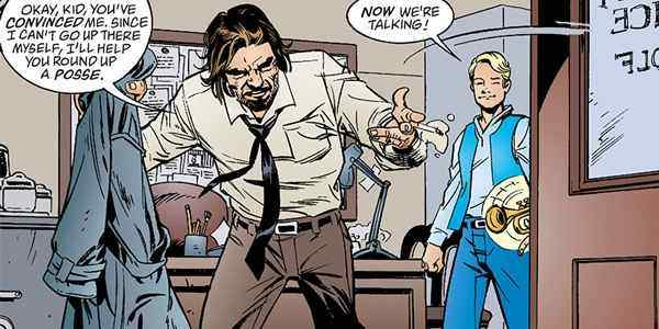 Bigby is not called the Big Bad Wolf for nothing.