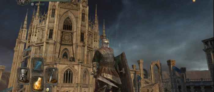 The Cathedral of Blue in Heide's Tower of Flame