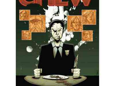 Cops. Government Agents. Soup. Welcome to the insane world of Chew.