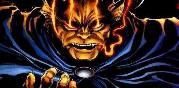 One hell of a hero: Jack Kirby's antiheroic monster Etrigan.