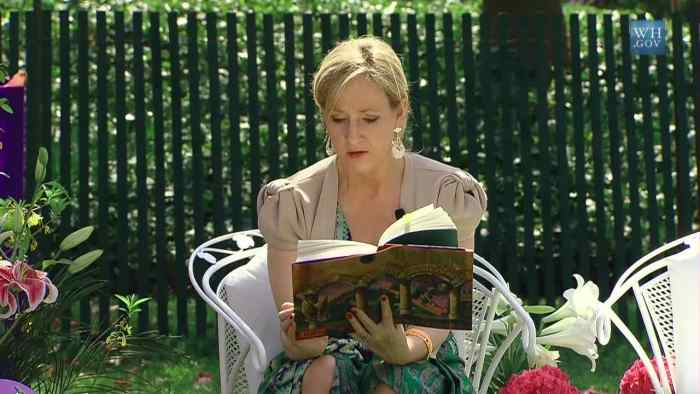 J.K. Rowling has traditionally been very supportive of fanfiction of her work.