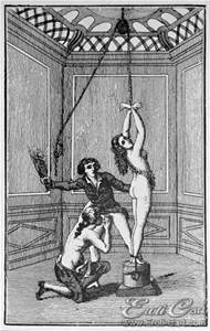 One of the tamer illustrations of what occurs in the Marquis' works