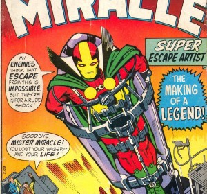 Mister Miracle faces another dramatic, seemingly inescapable scenario.