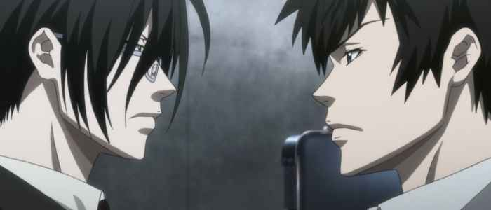 PsychoPass Ginoza and Kogami