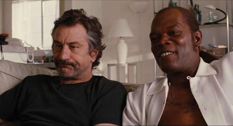 Robert De Nero and Samuel L. Jackson in Jackie Brown