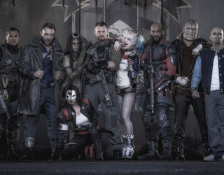 The cast of the upcoming Suicide Squad film.
