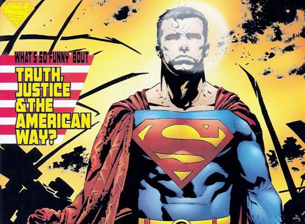 superman symbol of hope overshadowed by nationality identification
