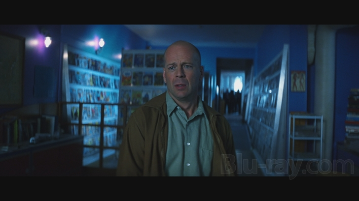 Bruce Willis plays an unlikely hero in Unbreakable