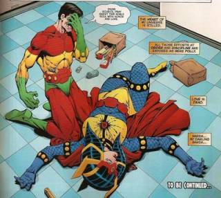 The death of Big Barda