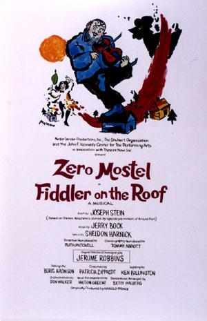 Poster for the original 1964 production