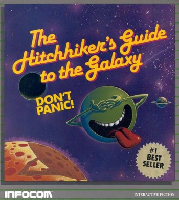 The Hitchhiker's Guide to the Galaxy: The Game. Douglas Adams' unsung masterpiece?