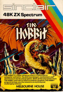 Long before Peter Jackson's Lord of the Rings trilogy appeared on screen, Middle Earth was introduced to gamers in The Hobbit - a text adventure for the ZX Spectrum.