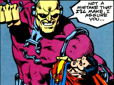 Mongul prepares to deliver the coup de grace