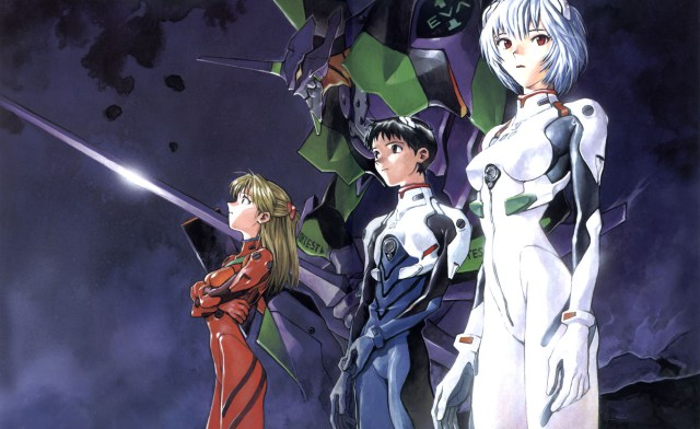Neon Genesis Evangelion Pilots
