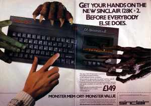 The ZX Spectrum. The pinnacle of gaming back in 1982.