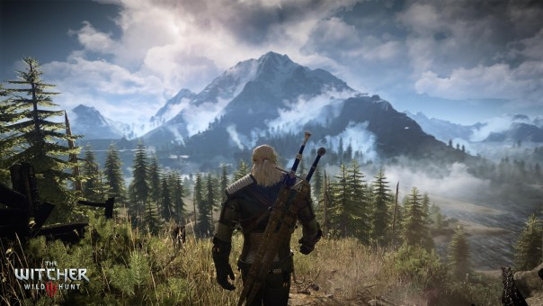 Vibrant, vivid, huge: The Witcher 3 shows just how far we've come since the 1980s.