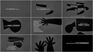 Opening credits of Anatomy of a Murder