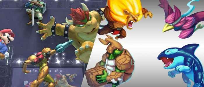 Super Smash Brothers vs. Rivals of Aether