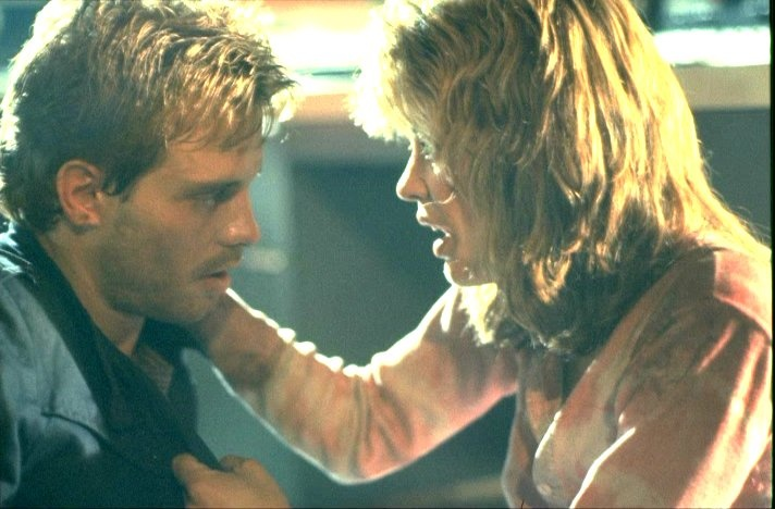 "Kyle Reese and Sarah Connor in ""The Terminator"""