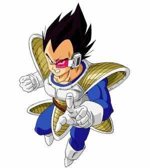 Prince of all Saiyans, Goku's ultimate rival, and Renegade for Life.