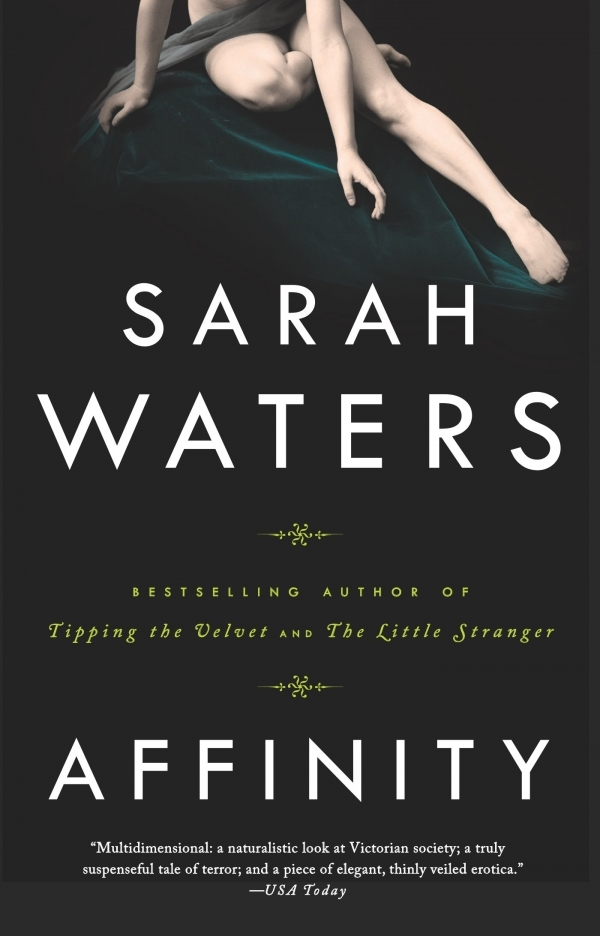 Sarah Waters's AFFINITY cover