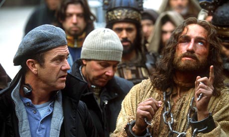 Mel Gibson and Jim Caviezel in The Passion of the Christ, 2004