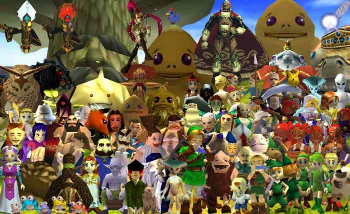 OoT-characters