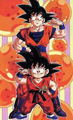 From young monkey boy to powerful saiyan warrior.