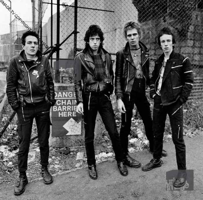 The Clash in Belfast - 1977