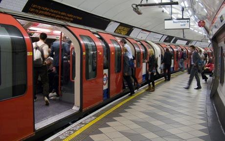 The London Underground: A surprisingly compelling setting.