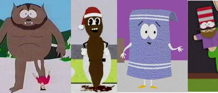 Outlandish South Park characters
