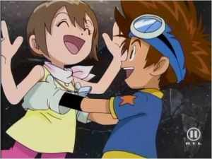 The relationships between family members is explored a lot in Digimon.
