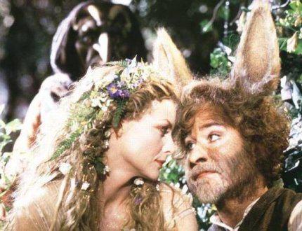 Titania and Bottom. Movie Still from A Midsummer Night's Dream (1999)