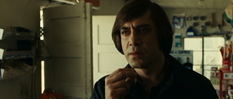 Anton Chigurh, one of many three-dimensional characters in No Country For Old Men