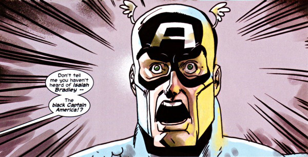Steve Rogers finds out that he was not the first Captain America