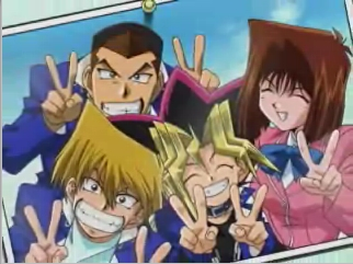 Yugi and his friends