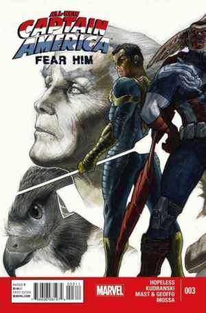 Sam Wilson as Captain American: Fear Him (Issue 3)
