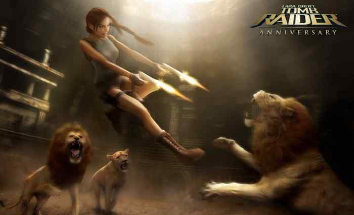 Tomb Raider Anniversary art