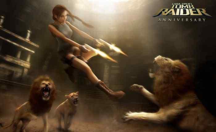 Tomb Raider Anniversary art