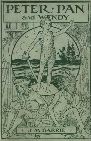 Cover of the 1915 edition of Barrie's classic