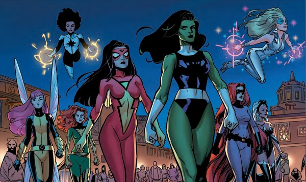A-Force (All Female Avengers Cast)
