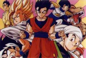 Gohan throughout the years.