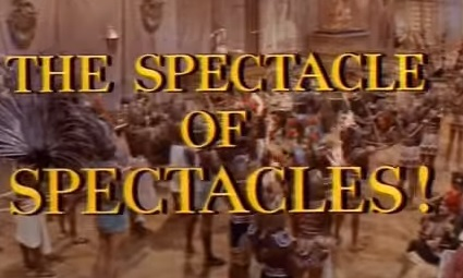 This trailer for Cleopatra advertises the spectacle.
