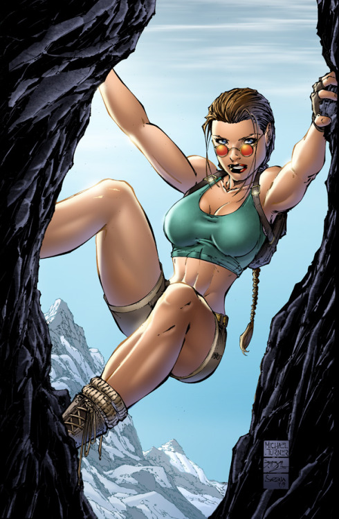 Variant Cover for Tomb Raider Issue 1